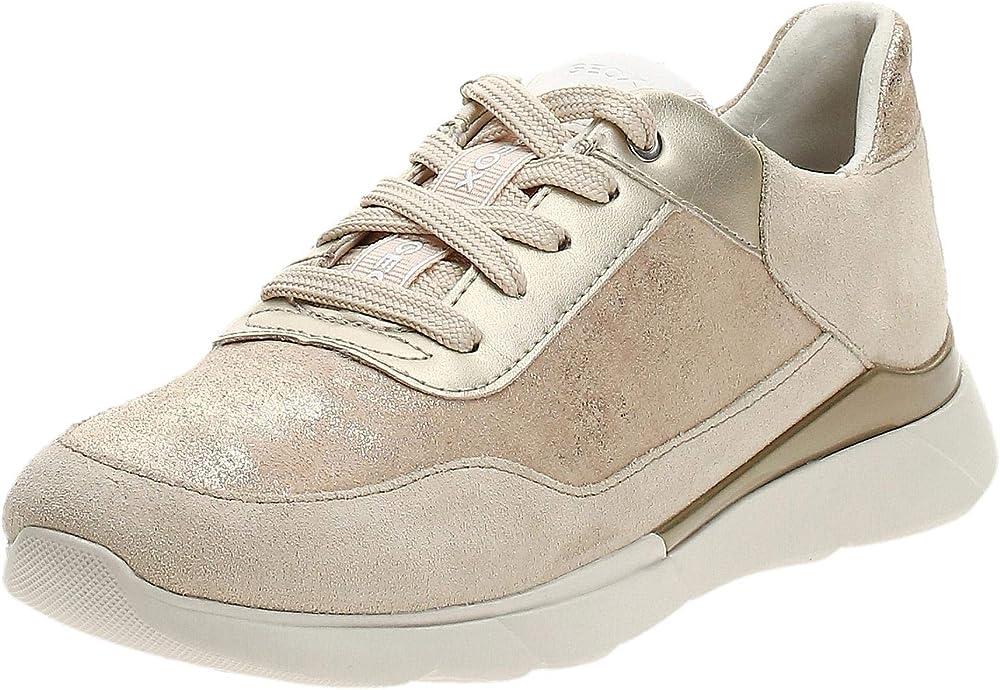 Geox d hiver a, scarpe da ginnastica basse donna D94FHA07722