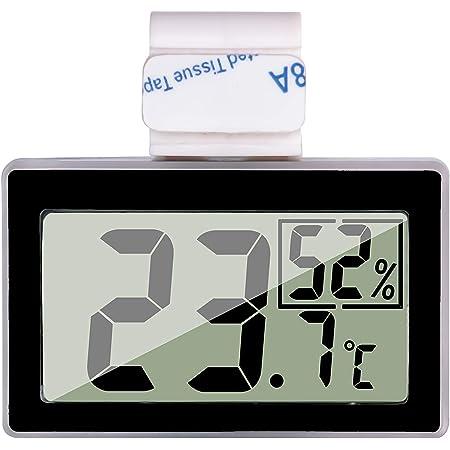 LCD Digital Hygrometer Humidity Thermometer Temperature Nursery Tank Reptile K