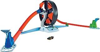 مجموعة لعب تحدي العجلة الدوّارة Hot Wheels Spinwheel Challenge للأطفال بعمر 5 سنوات وما فوق