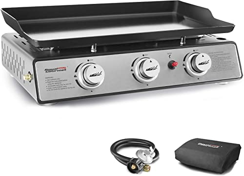 Royal-Gourmet-PD1301S-Portable-24-Inch-3-Burner-Table-Top-Gas-Grill
