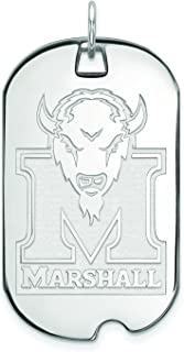 Image result for 3. Marshall Large (3/4 Inch) Dog Tag (14k White Gold)