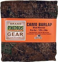 Primos Camo Burlap Blind Material - Pre-Cut Mossy Oak New Break-Up