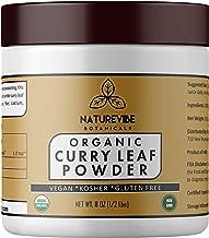 Curry Leaf Powder ( 1/2 lb ) by Naturevibe Botanicals, Gluten-Free & Non-GMO (8 ounces) - Organic Murraya koenigii