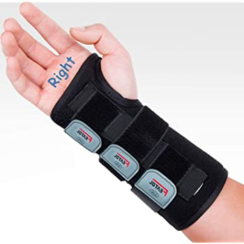 Medical Grade Lightweight Low Profile Design For Treatment of Carpal Tunnel and Tendinitis Ossur Exoform Carpal Tunnel Wrist Brace Medium Right