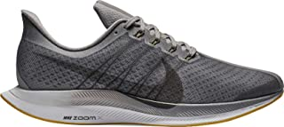 Men's Air Zoom Pegasus 35 Turbo Running Shoes (8.5, Black/Grey)