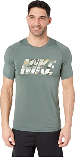 Pro Top Short Sleeve Fitted 2 Layer Camo