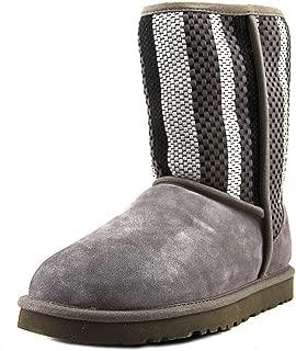 UGG Women's Classic Short Woven Suede Boot