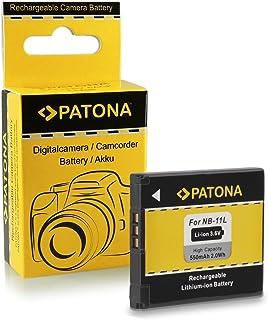 Bateria NB-11L para Canon Ixus 125 HS | 132 | 135 | 140 | 240 HS - PowerShot A2300 | A2400 IS | A2500 | A2600 | A3400 IS | A3500 IS | A4000 IS | ELPH 110 HS | 115 IS | 120 IS | 130 IS...