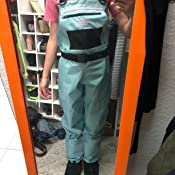 Details about  /Caddis Womens Attractive Teal Deluxe Breathable Stocking Foot Chest Wader