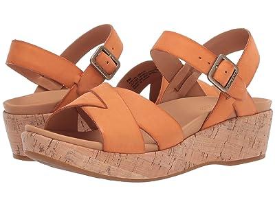 Kork-Ease Myrna 2.0 (Orange Full Grain Leather) Women