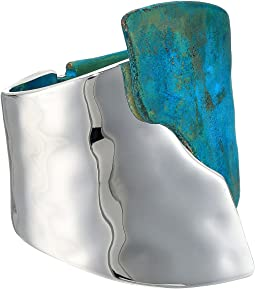 Robert Lee Morris - Silver Hinge Bangle Bracelet