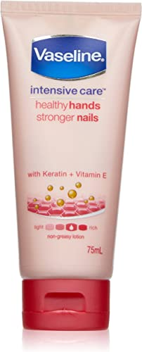 Vaseline Intensive Care Hand Cream Healthy Hands Stronger Nails, 75ml