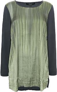 X Two Earlena Top T Shirt Tunika Trägershirt Damen Lagenlook Plusgröße Viskose