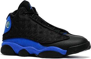 Amazon.com: Jordan Black and Blue Shoes Mens