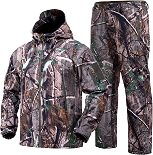 YEVHEV Hunting Gear Suit for Men Camouflage Hunting...