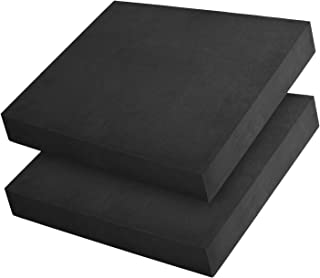 XCEL 2 Pack Balancing Pad Foam,  Great Meditating and Cushion pad,  Upcycled Rubber,  Yoga Foam Pad,  Made in USA (Neoprene)