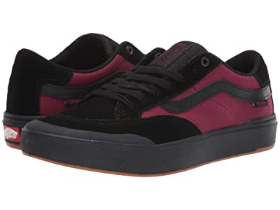 Vans Berle Pro ((Punk) Black/Beet Red) Skate Shoes