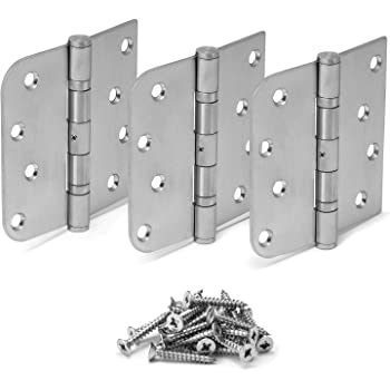 """Perry Shield 4/"""" CERTIFIRE CE13 Stainless Steel Ball Bearing Fire Door Hinges D3"""