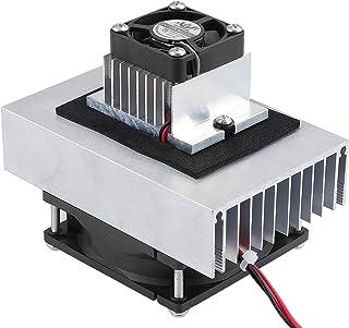 WiMas DC 12V Refrigerador Termoeléctrico, Semiconductor Sistema de Refrigeración, Módulo de Conducción + Radiador + Ventilador + TEC1-12706