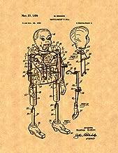 Ventriloquist's Doll Patent Print (8.5