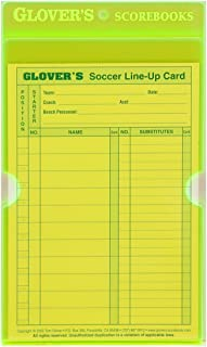 Glover's Scorebooks Acrylic Line-Up Card Holder (Fits Line-Up Card)