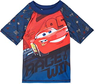 CARS-DARI_9-Boys -SWIM T-SHIRT-NAVY-8Yrs