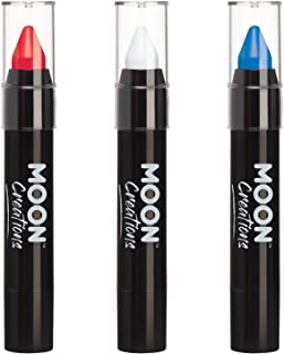 FANBRUSH tricolore BLEU BLANC ROUGE France crayon maquillage face painting
