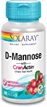 Solaray D-Mannose with CranActin, Urinary Tract Health, 60 VegCaps