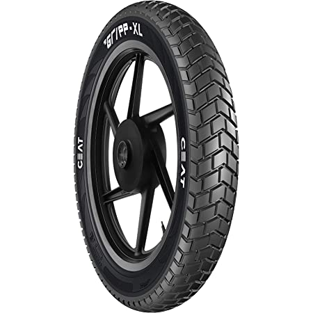 Ceat Gripp Xl 120 90 17 64s Tube Type Bike Tyre Rear Home Delivery Amazon In Car Motorbike