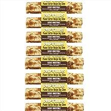 No Hide Earth Animal Peanut Butter Dog Chews. 8 Medium (6-7 inch ea) The Safe Alternative to Rawhide!