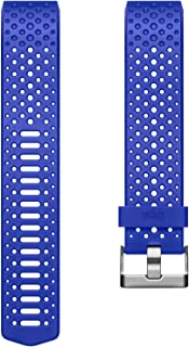 Fitbit Charge 2 Health and Fitness Tracker Sport Accessory Band, Small - Cobalt