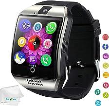 Bluetooth Smart Watch Touchscreen Wrist Watch Unlocked Watch Fitness Tracker Facebook..