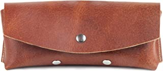 Genuine leather sunglasses case Leather sunglasses pouch Glasses case Glasses pouch Portable sunglasses case