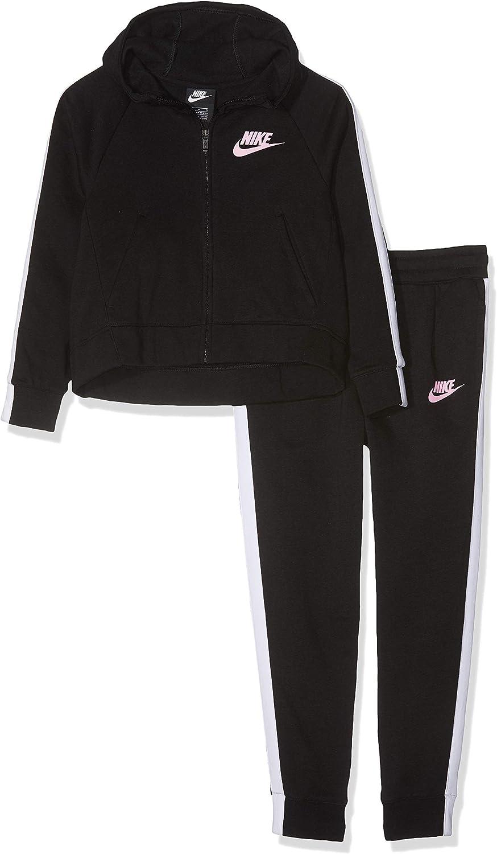 Nike Tuta Girl BiFarbee Full Zip FELPATA Junior Mod. AH8286