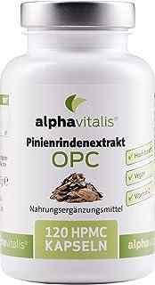 500 mg Pinienrindenextrakt mit OPC je Kapsel + natürliches Vitamin C – ohne..