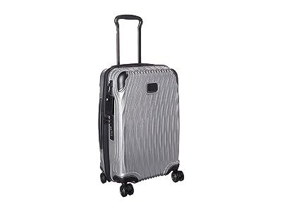 Tumi Latitude International Carry-On (Silver) Carry on Luggage