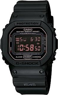 Casio Casio 男士 DW5600MS-1CR G-Force 军事概念黑色数字手表