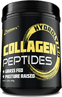 Premium Hydrolyzed Collagen Peptides (21oz) - Non-GMO, Grass-Fed, Gluten-Free, Pasture Raised Cattle - Unflavored and Easy...