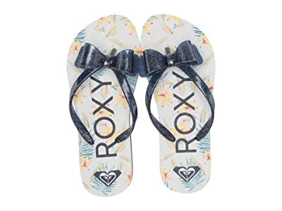 Roxy Kids Lulu III (Little Kid/Big Kid) (Navy/Navy) Girls Shoes
