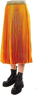 Silvian Heach Luxury Fashion Womens PGA19287GOORANGE Orange Skirt | Fall Winter 19