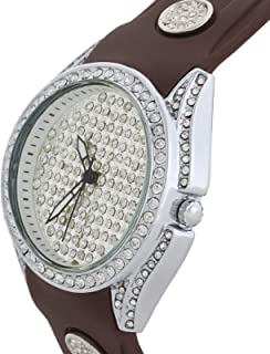 Charisma Casual Watch for WomenSilicone B and, Analog, C6066
