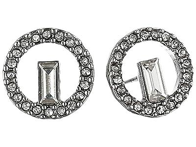 Vince Camuto Stud Earrings (Rhodium/Crystal) Earring