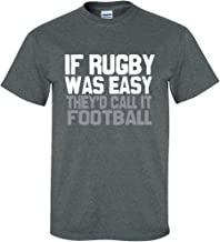 Image Sport Rugby If Rugby was Easy Dark Heather T-Shirt