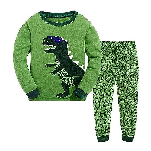 4f5988679b TEDD Boys Pyjamas Dinosaur Nightwear Cotton Toddler Clothes Kids Sleepwear  Winter Long Sleeve Christmas Pjs Sets