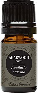 Edens Garden Agarwood (Oud) Essential Oil, 100% Pure Therapeutic Grade (Highest Quality Aromatherapy Oils- Anxiety & Stress), 5 ml