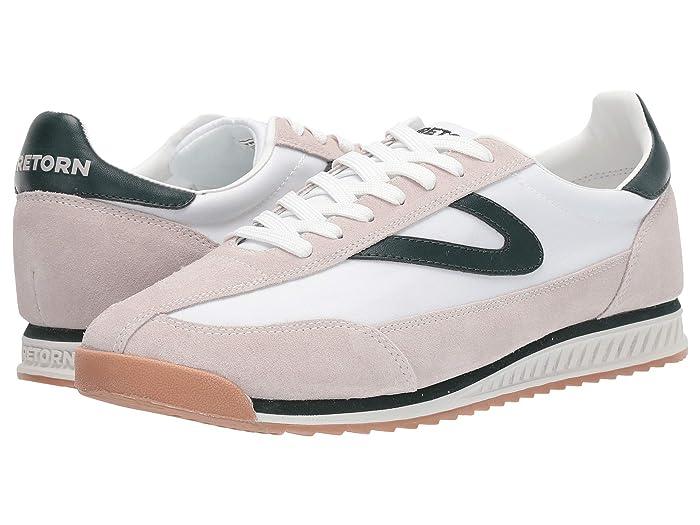 Tretorn Rawlins 8 (Icing/Vintage White/Seaweed) Men's Shoes