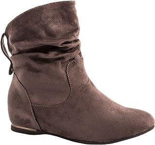 Elara Botines para Mujer Boots Cuña Chunkyrayan