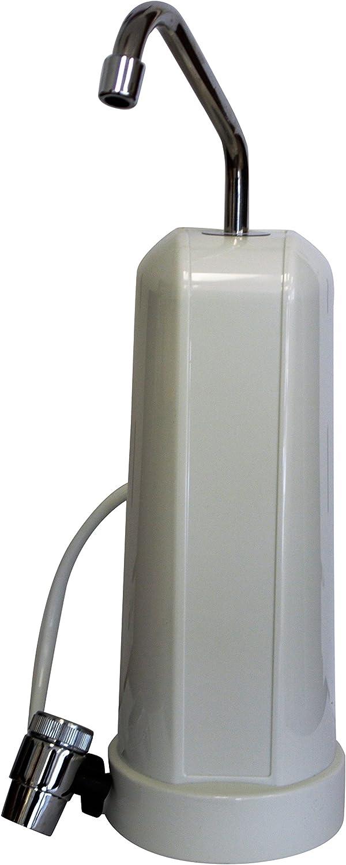 F5 30,000-Gallon Countertop Water Filter, White Finish