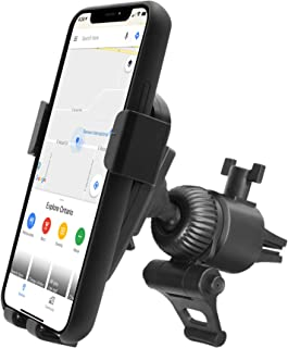 Car Vent Phone Holder Mount, Macally Gravity Car Phone Mount with Auto Clamping and Super Strong AC Clip for iPhone 11 Pro...