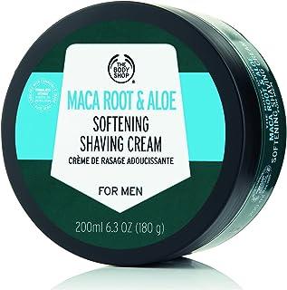 The Body Shop Maca Root & Aloe Softening Shaving Cream for Men, 6.3 Oz